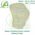 Šlapák z přírodního kamene ,Ledvina-004,- Pískovec do šedé, 55x40cm, síla 3-5cm