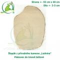 Šlapák z přírodního kamene ,Ledvina-006,- Pískovec do tmavě béžové, 50x40cm, síla 3-5cm