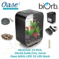 Oase biOrb LIFE 15 LED black - Akvárium 15 litrů, 29 x 19,3 x 40,7cm, černá