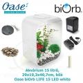 Oase biOrb LIFE 15 LED white - Akvárium 15 litrů, 29 x 19,3 x 40,7cm, bílá
