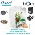 Oase biOrb LIFE 15 MCR white - Akvárium 15 litrů, 29 x 19,3 x 40,7cm, bílá