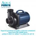 Univerzální čerpadlo Aqua Forte DM-20000 Vario, s regulací výkonu, příkon 34-187 W, max. průtok 9-20 m3/h, max. výtlak 7 m