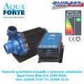 Úsporné gravitační čerpadlo s externím ovladačem Aqua Forte Blue Eco 2200 Watt, max. průtok 57m³/h, výtlak 23 m