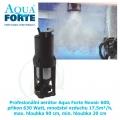 Profesionální aerátor Aqua Forte Novair 600, příkon 630 Watt, množství vzduchu 17,5m³/h, max. hloubka 90 cm, min. hloubka 20 cm,