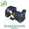 Úsporná čerpadla Performance 15000, výkon 15000 l/h, příkon 119-207 Watt, výtlak 4,5 m,