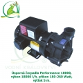 Úsporná čerpadla Performance 18000, výkon 18000 l/h, příkon 180-260 Watt, výtlak 5 m,
