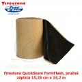 Firestone QuickSeam FormFlash, pružná záplata 15,25 cm x 15,2 m