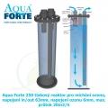 Aqua Forte 250 tlakový reaktor pro míchání ozonu, napojení in/out 63 mm, napojení ozonu 6 mm, max. průtok 20 m3/h