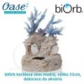 biOrb korálový útes modrý, výška 21cm, dekorace do akvária