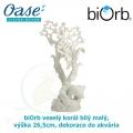 biOrb veselý korál bílý malý, výška 26,5cm, dekorace do akvária