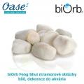 biOrb Feng Shui mramorové oblázky bílé, dekorace do akvária