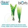biOrb zelené rostliny do akvária střední, 2 kusy, výška 29cm, dekorace do akvária