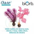 biOrb rostliny do akvária male, růžové, 2 kusy, výška 20cm, dekorace do akvária