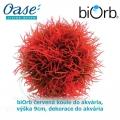 biOrb červená koule do akvária, výška 9cm, dekorace do akvária