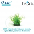 biOrb zelená vodní tráva do akvária, výška 15cm, dekorace do akvária