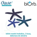 biOrb modré hvězdice, 3 kusy, dekorace do akvária