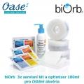 biOrb 3x servisní kit a optimizer 100ml pro čištění akvéria.