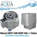 Nexus EAZY 320 EAST Set + Cetus - Gravitační i čerpadlová verze