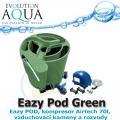Eazy Pod Air v zelené barvě, jezírka 5-50m3, Eazy POD, kompresor Airtech 70l, vzduchovací kameny a rozvody, záruka až 60 měsíců*, garance až 90 dnů**