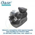 Výkonné a energeticky velmi úsporné čerpadlo - Oase AquaMax Eco Titanium 3000, 25-180 Watt, 3.000 l/hod., max. výtlak 3 m