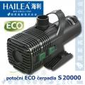 Čerpadlo Hailea S 20000 ECO, max. průtok 19100 l/h, výtlak 6,3 m, příkon 318W