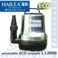 Univerzální čerpadlo Hailea L 12000 ECO, max. průtok 12000 l/h, výtlak 5,0 m, příkon 160W