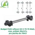 Budget FLEX reflexní UV-C T5 75 Watt, max. průtok 20m3/h, pro jezírka do 70m3