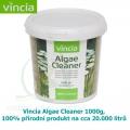 Vincia Algae Cleaner 1000 g, 100% přírodní produkt pro potlačení tvorby dlouhých řas a zelenání vody, na cca 20.000 litrů