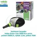 Jezírkové čerpadlo Velda Green Line 5000 Eco verze, průtok 5000l/h, výtlak 3,5m, příkon 40W