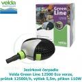 Jezírkové čerpadlo Velda Green Line 12500 Eco verze, průtok 12500l/h, výtlak 5,5m, příkon 110W