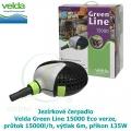 Jezírkové čerpadlo Velda Green Line 15000 Eco verze, průtok 15000l/h, výtlak 6m, příkon 135W
