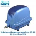 Vzduchovací kompresor Aqua Forte AP-80, 84 l/m, příkon 55W