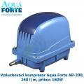 Vzduchovací kompresor Aqua Forte AP-200, 250 l/m, příkon 180W