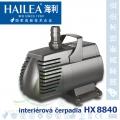Čerpadlo Hailea HX-8840, 4000 litrů/hod., max. výtlak 3 m, příkon 70W,