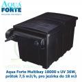 Filtrace Aqua Forte Multibay 18000 s UV 36W, průtok 7,5 m3/h, pro jezírka do 18 m3
