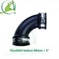 Flexibilní koleno 90mm / 3