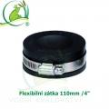 Flexibilní zátka 110mm /4