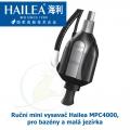 Ruční mini vysavač Hailea MPC4000, pro bazény a mini jezírka