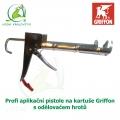 Profi aplikační pistoale na kartuše Griffon s odělovačem hrotů