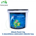Attack Pond 3kg - k okamžitému odstranění vláknité řasy