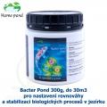 Bacter Pond 300g, do 30m3 - pro nastavení rovnováhy a stabilizaci biologických procesů v jezírku