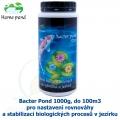 Bacter Pond 1000g, do 100m3 - pro nastavení rovnováhy a stabilizaci biologických procesů v jezírku