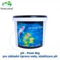 pH - Pond 4kg - pro základní úpravu vody, stabilizace pH