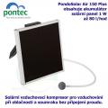 Pontec PondoSolar Air 150 Plus - Solární vzduchovací kompresor s akumulátorem