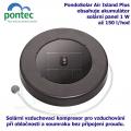 Pontec PondoSolar Air Island Plus - Plovoucí solární vzduchovací kompresor s akumulátorem