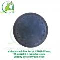Vzduchovací disk 14cm, EPDM difuzor, 20 průseků - 4mm
