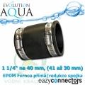 EA EPDM spojka 1 1/4, (41 až 30 mm)