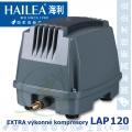 Extra výkonný kompresor LAP-120, 150 litrů/min., 125 Watt