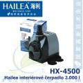 Interiérové univerzální čerpadlo Hailea HX-4500, 2000 litrů/hod, max. výtlak 2,8 m, příkon 36W,