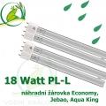 18 Watt žárovka-zářivka, model Economy, Jebao, Aqua King, no-name